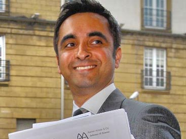 Aamer Anwar Website by Soapbox Digital Media, Glasgow