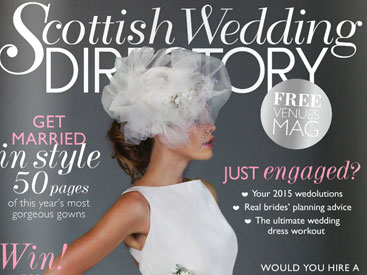 Scottish Wedding Directory Website by Soapbox Digital Media, Glasgow