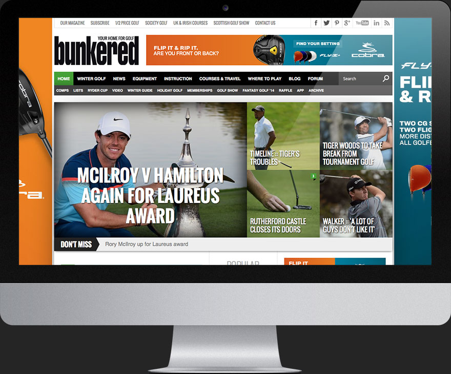 Bunkered Home Page