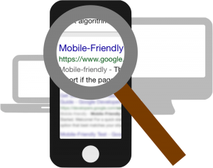 Mobile Friendly Google search