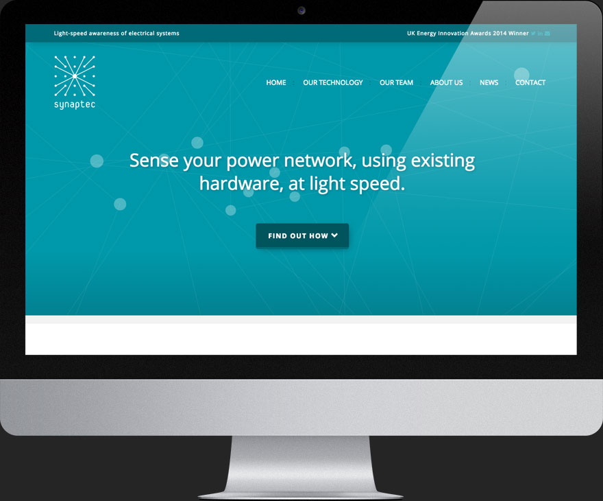 Synaptec Website designed and developed by Soapbox Digital Media